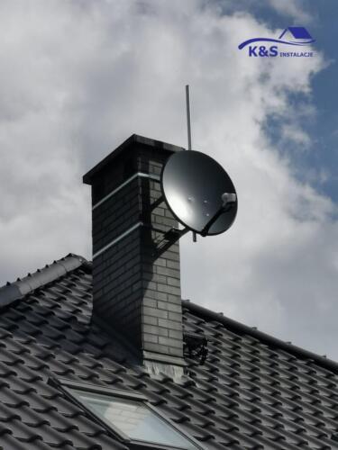 Montaż anteny satelitarnej K&S Instalacje