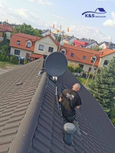 Montaż Anten Wrocław K&S Instalacje