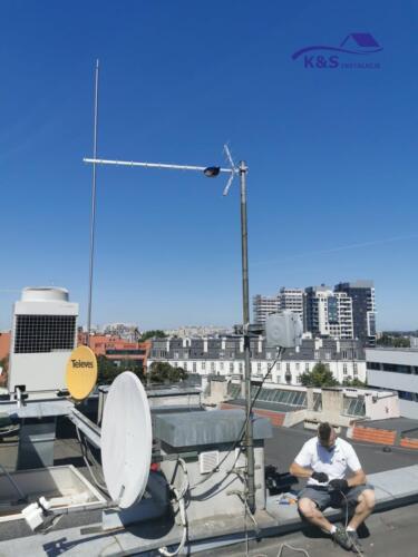 Montaż anteny DVBT K&S Instalacje Wrocław